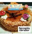 Tarta de Crema y Yema tostada SIN GLUTEN-encargos :942213962